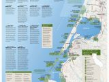 Map Of Beaches In southern California Pacific Crest Trail Map northern California Printable Map north