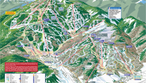 Map Of Beaver Creek Colorado Trail Maps Arrowhead at Vail