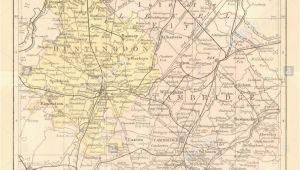 Map Of Bedford Ohio Antique Map Of Cambridge Stock Photos Antique Map Of Cambridge