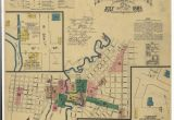 Map Of Bedford Texas Historic Maps Show What Downtown San Antonio Looked Like Back In