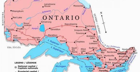 Map Of Belleville Ontario Canada Ontario Map Canada Ontario Map Discover Canada Canada Travel