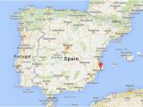 Map Of Benidorm Spain Benidorm Spain Map Dijkversterkingbas