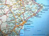 Map Of Benidorm Spain Benidorm Spain Map Map Of West
