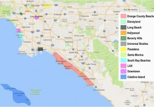 Map Of Beverly Hills California area How to Find the Best Place to Stay In Los Angeles
