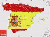 Map Of Bilbao Spain Flag Map Of Spain