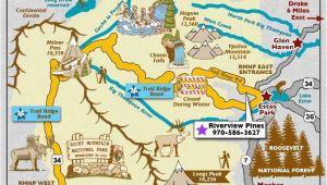 Map Of Blackhawk Colorado Trail Ridge Road Scenic byway Map Colorado Vacation Directory