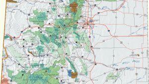 Map Of Blm Land In Colorado Colorado Dispersed Camping Information Map