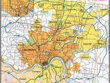 Map Of Blue ash Ohio Hamilton County Ohio Zip Code Map Cincinnati Zip Code Map Awesome