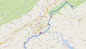 Map Of Blue Ridge Georgia Blue Ridge Parkway Map Entry Points