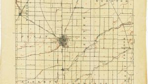 Map Of Bowling Green Ohio Ohio Historical topographic Maps Perry Castaa Eda Map Collection