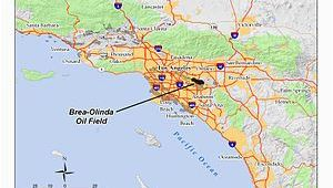 Map Of Brea California Brea Olinda Oil Field Wikipedia
