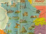 Map Of Brest France Carte De La France Vive La France France Map Map France
