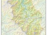 Map Of Brevard north Carolina Haywood County topographical Map Haywood north Carolina Mappery