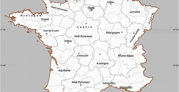 Map Of Brittany France Google Brittany France Map Awesome Blank France Map Printable Picture