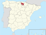 Map Of Burgos Spain A Lava Wikipedia