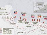 Map Of Caen France D Day Invasion In Der normandie Geo