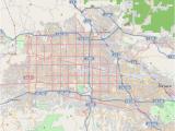 Map Of California Arizona Border Canoga Park Los Angeles Wikipedia