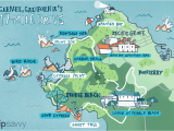 Map Of California Coast Hwy 1 17 Mile Drive Must Do Stops and Proven Tips