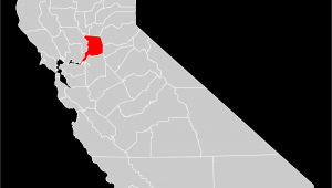 Map Of California Hospitals File California County Map Sacramento County Highlighted Svg