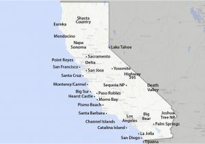 Map Of California Showing Palm Springs Maps Of California Created for Visitors and Travelers