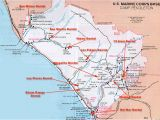 Map Of Camp Pendleton California California Map Camp Pendleton Marine Corp Base Camp Pendleton