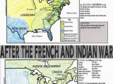 Map Of Canada and England French and Indian War Map Activity American Revolution
