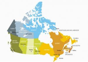 Map Of Canada and Usa with Provinces and States the Largest and Smallest Canadian Provinces Territories by area