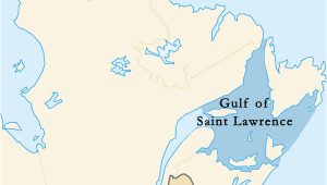 Map Of Canada Gulf Of St Lawrence Gulf Of Saint Lawrence Wikipedia