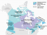 Map Of Canada In 1867 1825 after the War Of 1812 Immigration to British north America Led