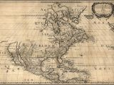 Map Of Canada S north 1650 Map United States Canada Mexico Antique north