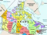 Map Of Canada Showing Provinces and Territories Plan Your Trip with these 20 Maps Of Canada