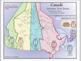 Map Of Canada Showing Time Zones Canadian Time Zones Printable Maps Student Activity Sheet