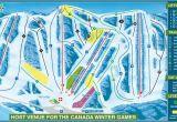 Map Of Canada Ski Resorts 2019 area Map Canyon Ski Resort