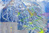 Map Of Canada Ski Resorts Blackcomb Mountain Skiing Whistler British Columbia