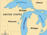 Map Of Canada with Great Lakes Map Of Michigan and Ontario Canada Image Result for Map Of Mi Lakes
