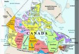 Map Of Canada with Provinces and Cities Plan Your Trip with these 20 Maps Of Canada