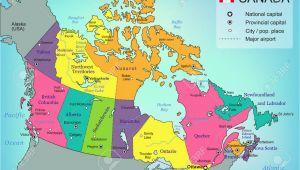 Map Of Canada with Provincial Capitals Canada Provincial Capitals Map Canada Map Study Game Canada