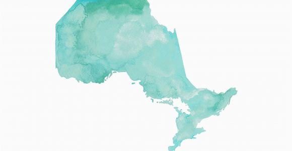 Map Of Canada with toronto Ontario Map Ontario Canada Map Canada Gift Ontario Map