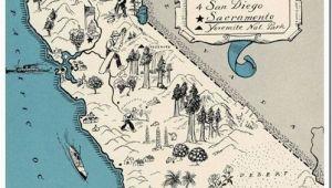 Map Of Carmel California California Map It Vintage Pinterest California Map Vintage