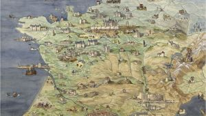 Map Of Castles In France France Jean Claude Golvin Castle Study In 2019 France