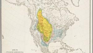 Map Of Centennial Colorado Map Of Bison Distribution Over Time This Map Depicts the Shrinking