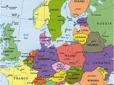 Map Of Central Europe Countries Map Of Europe Countries January 2013 Map Of Europe