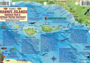 Map Of Channel islands California California Fish Card Channel islands 2011 by Frankos Maps Ltd