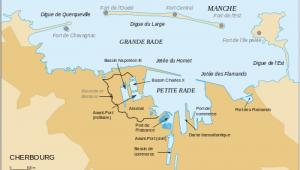Map Of Cherbourg France Cherbourg Octeville Revolvy