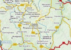 Map Of Chianti Region Italy toscana Online Reisefuhrer Chianti toscana Reisefuhrer Aus Dem