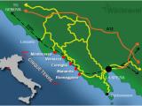 Map Of Cinque Terre In Italy Cinque Terre Wikitravel