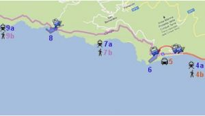 Map Of Cinque Terre Italy Cinque Terre Visit In One Day