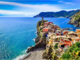 Map Of Cinque Terre Italy with Cities Italian Riviera tourist Map and Guide