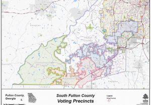 Map Of Clayton County Georgia Fulton County Georgia Open Data