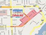 Map Of Clifton Ohio Map Clifton Hill Niagara Falls for Driving Directions to the